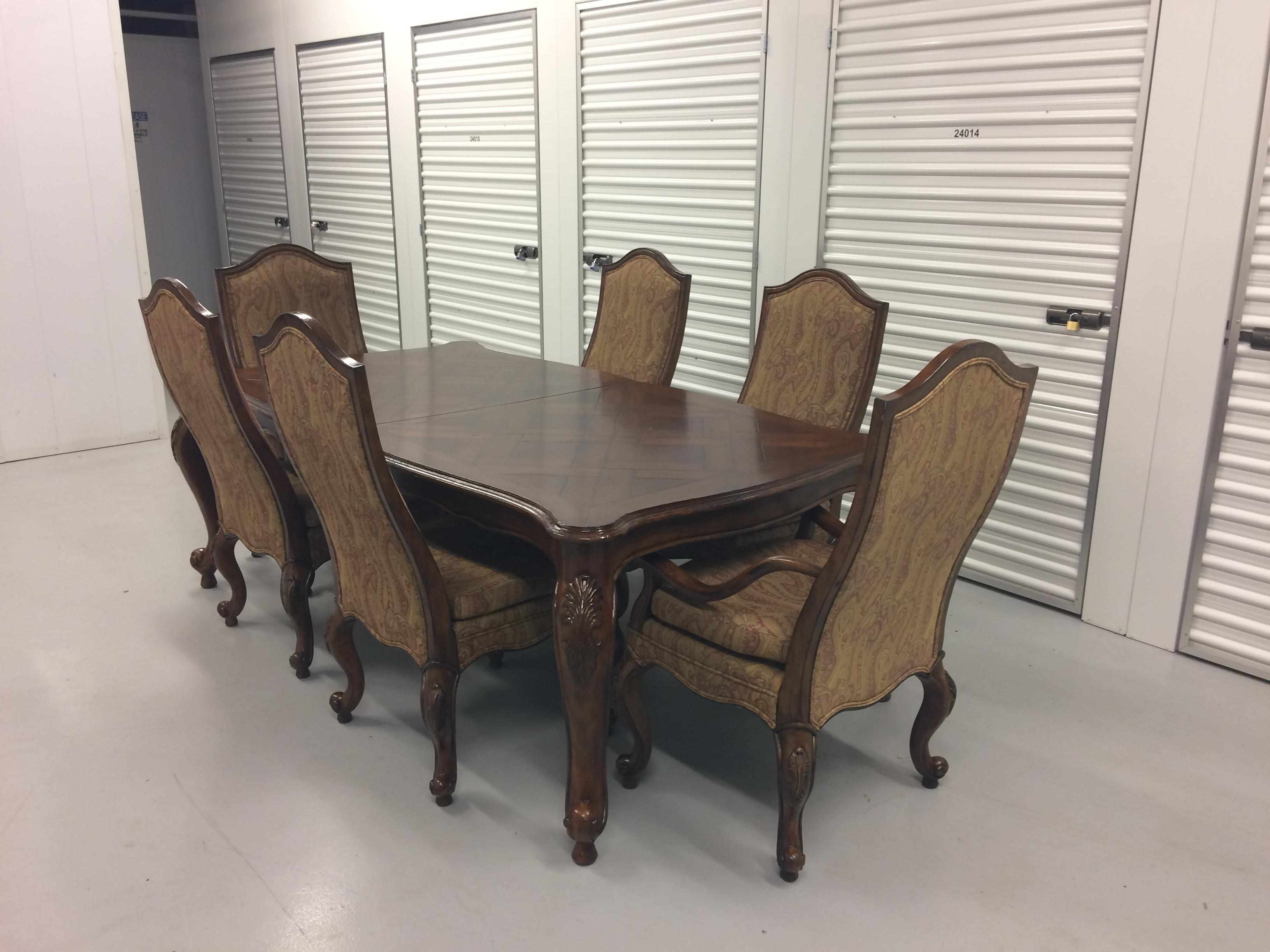French Country Drexel Heritage Dining Set For Sale   Image 3 Of 12