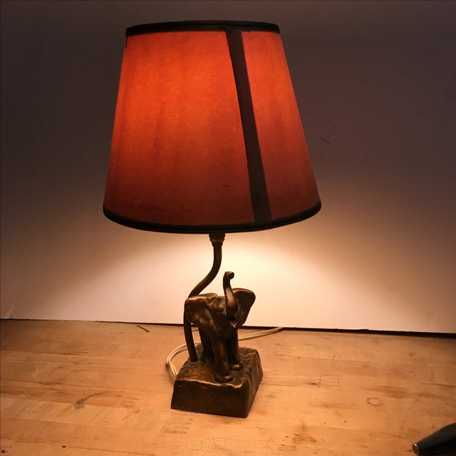 McCelland Barclay Bedside Elephant Lamp - Image 3 of 10