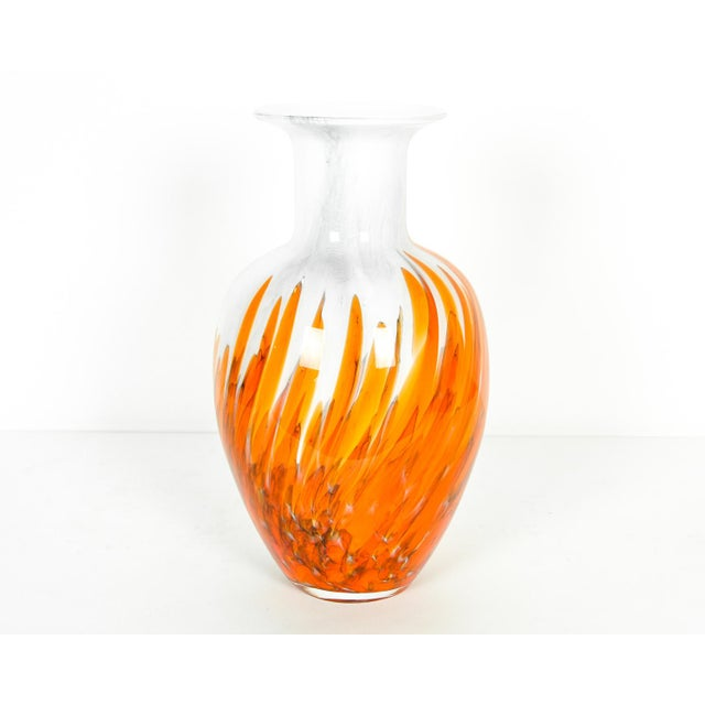 Mid 19th Century Mid Century Modern Art Deco Style Murano Glass Piece For Sale - Image 5 of 5