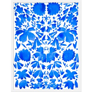 """Large """"Oxacan Blues"""" Print by Kate Roebuck, 31"""" X 41"""" For Sale"""