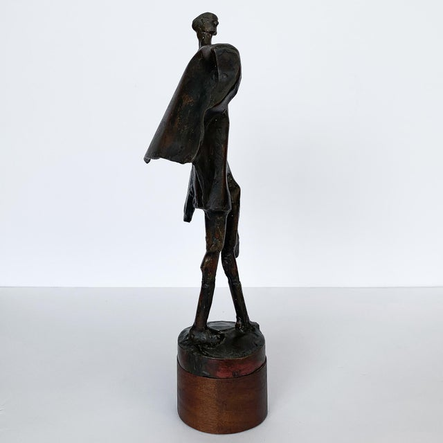 Gold Carole Harrison Figurative Matador Sculpture For Sale - Image 8 of 13