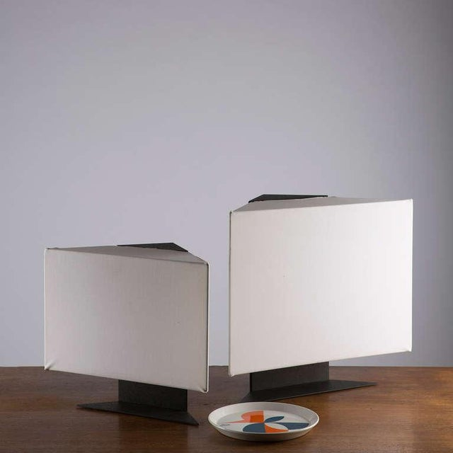 "Pair of ""Accademia"" Table Lamps by Cini Boeri For Sale - Image 10 of 10"