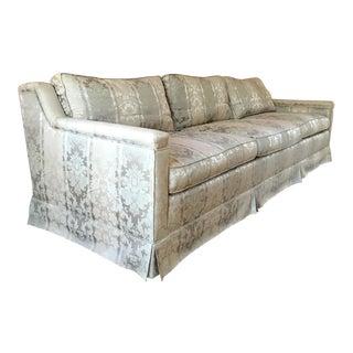 Saladino for Baker Furniture Silk & Cotton Sofa