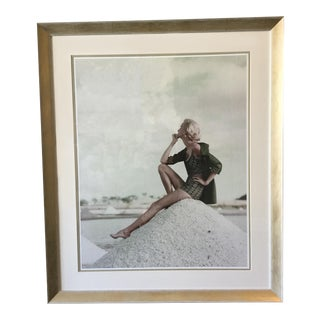 Conde Nast Collection - Model on Sand Hill For Sale