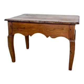 Late 18th Century Vintage Louis XVI Rustic Table For Sale