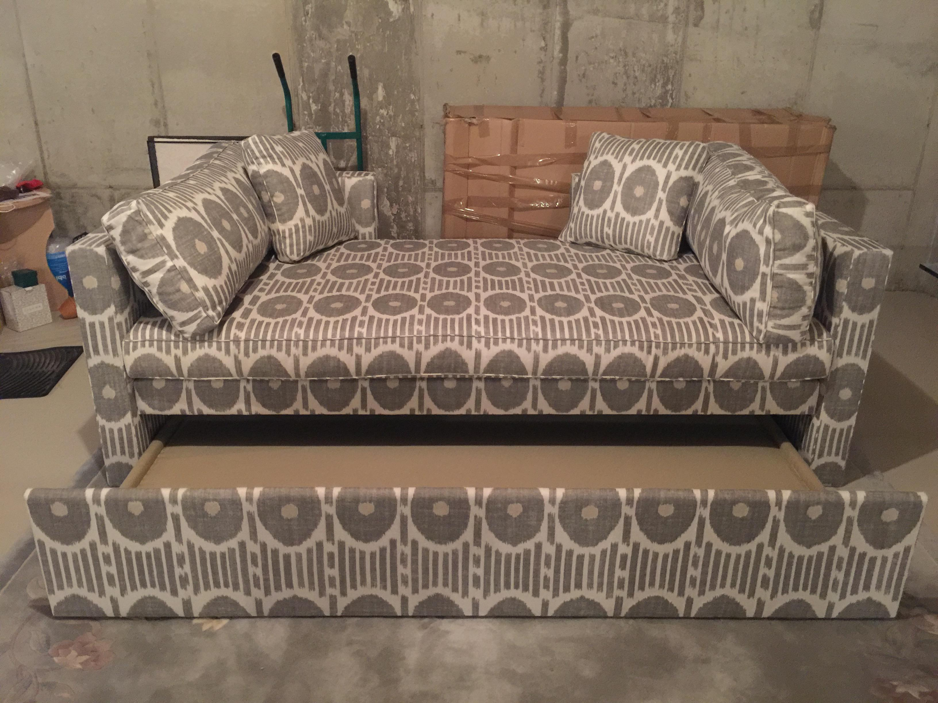 Highland House Ikat Daybed With Trundle Image 2 Of 6