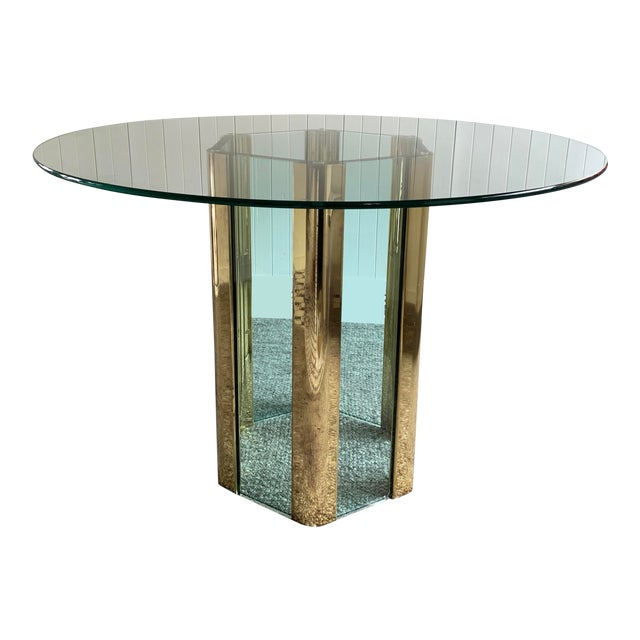 Hexagonal Dining Table by Leon Rosen for Pace For Sale
