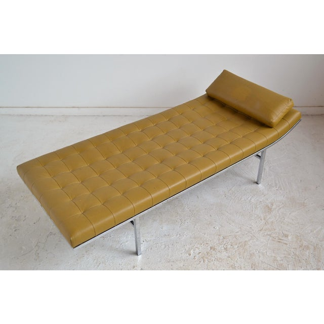 Silver Jules Heumann Chaise by Metropolitan For Sale - Image 8 of 11