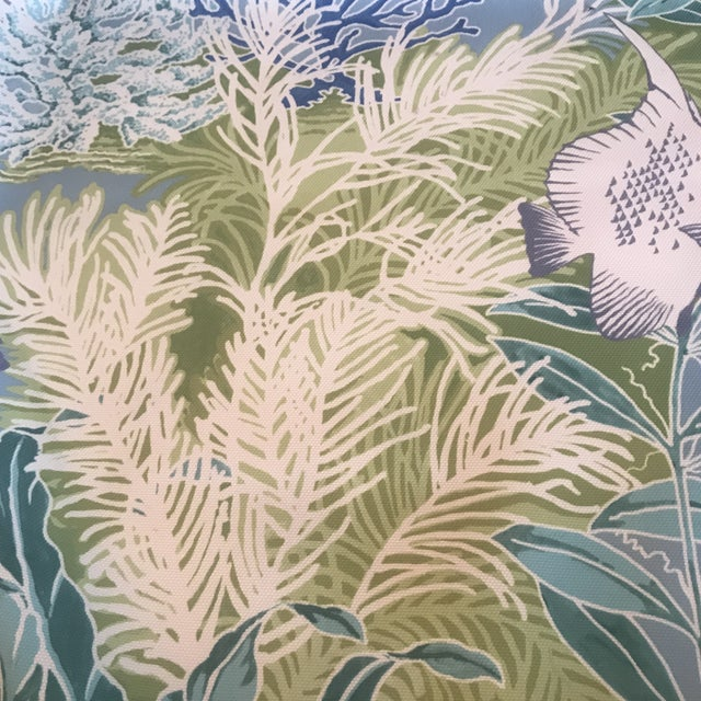 2010s Manuel Canovas Indoor / Outdoor Patmos Fabric - 3 1/2 Yards For Sale - Image 5 of 8