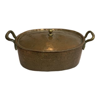 Antique Cooper Pot For Sale