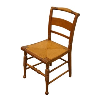 Late 20th Century Vintage Thomasville Furniture Welsh Cherry Collection Dining Side Chair Preview