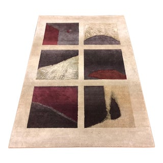Andy Warhol Home Collection Pop Art Series Rug - 5′3″ × 7′9″ For Sale