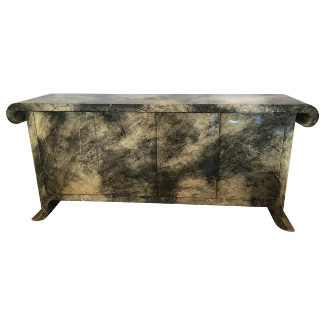 1970's Lacquered Baker Credenza - Image 1 of 11