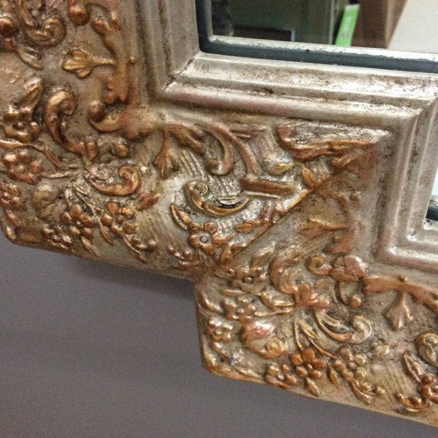 Carvers Guild White Pearl and Gold Mirror - Image 8 of 9