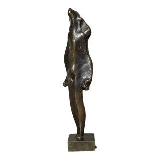 """""""L'Esperance"""" Cubist Bronze by Joseph Csaky For Sale"""