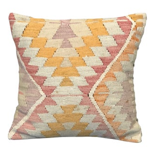 Antique Kilim Throw Pillow For Sale
