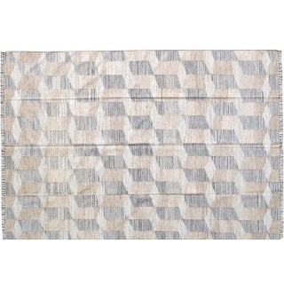 Stark Studio Rugs Contemporary Indian Flatweave Bamboo Rug - 6′1″ × 8′11″ For Sale