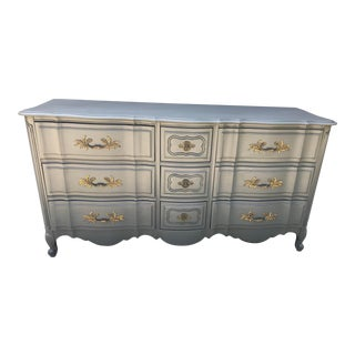 French 9 Drawer Dresser For Sale