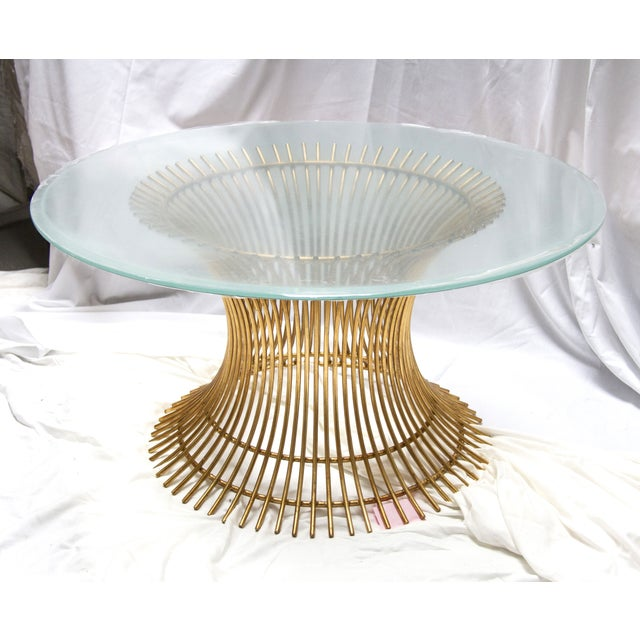 All that glitters is gold! The classic Powell Cocktail Table pays homage to Warren Platner, a mid-century furniture...