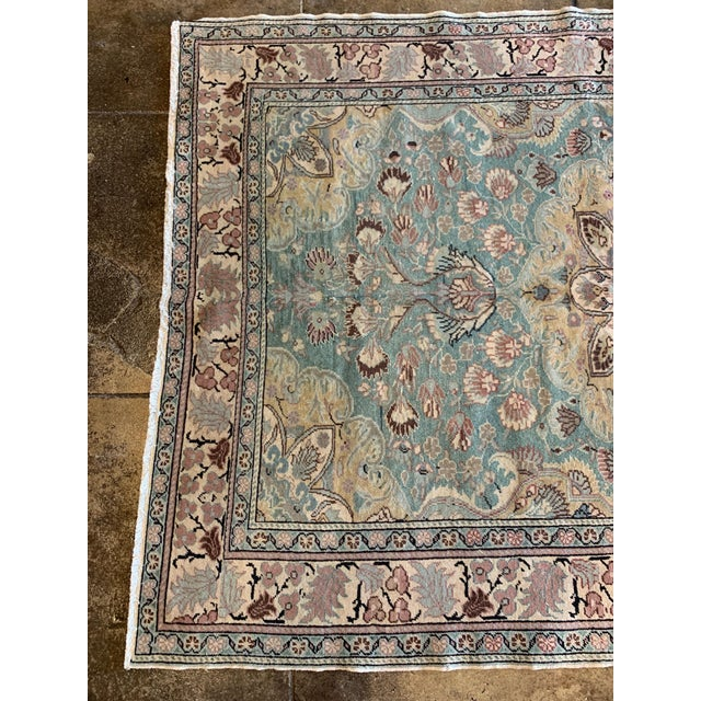 """Persian Mid 20th Century Antique Persian Rug - 6' 6"""" X 4' 9.5"""" For Sale - Image 3 of 6"""