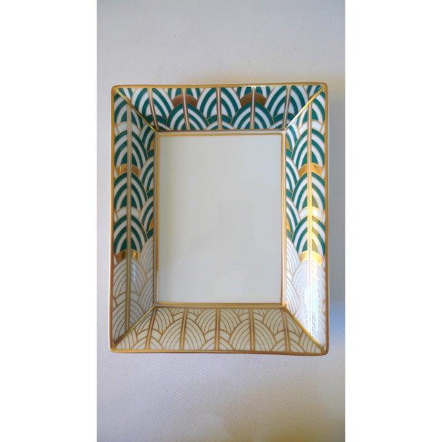 Art Deco 1990s Van Cleef & Arpels Bernardaud Porcelain Jewelry Dish For Sale - Image 3 of 10