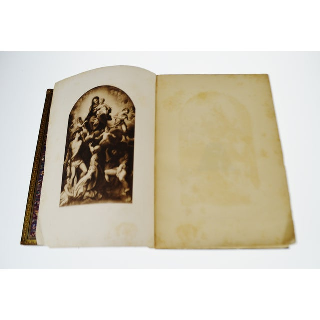 "1896 Antique ""Da Correggio Antonio Allegri Da Correggio His Life, His Friends, And His Time"" Book - Image 5 of 10"