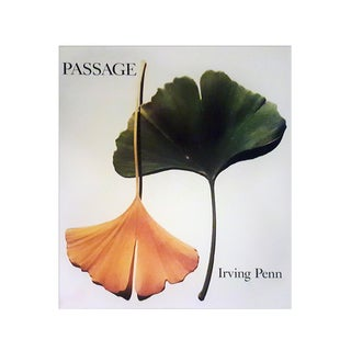 "Irving Penn, ""Passage"", Signed 1st Edition Book For Sale"