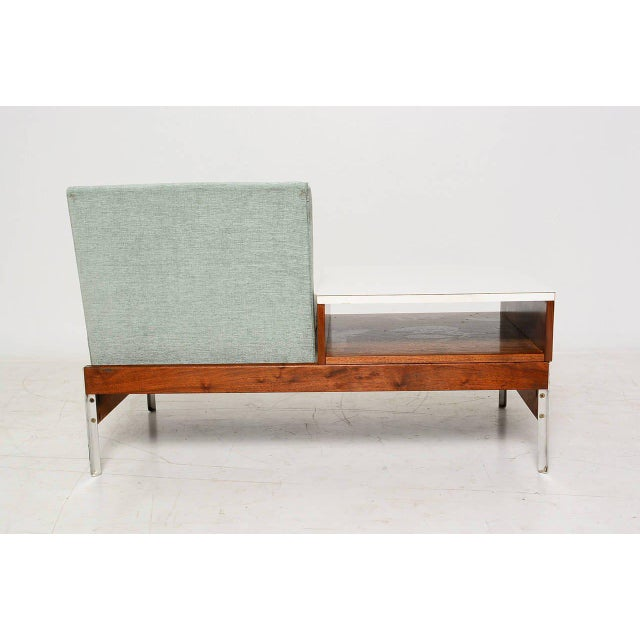 Mid-Century Seat & Table - Image 6 of 10