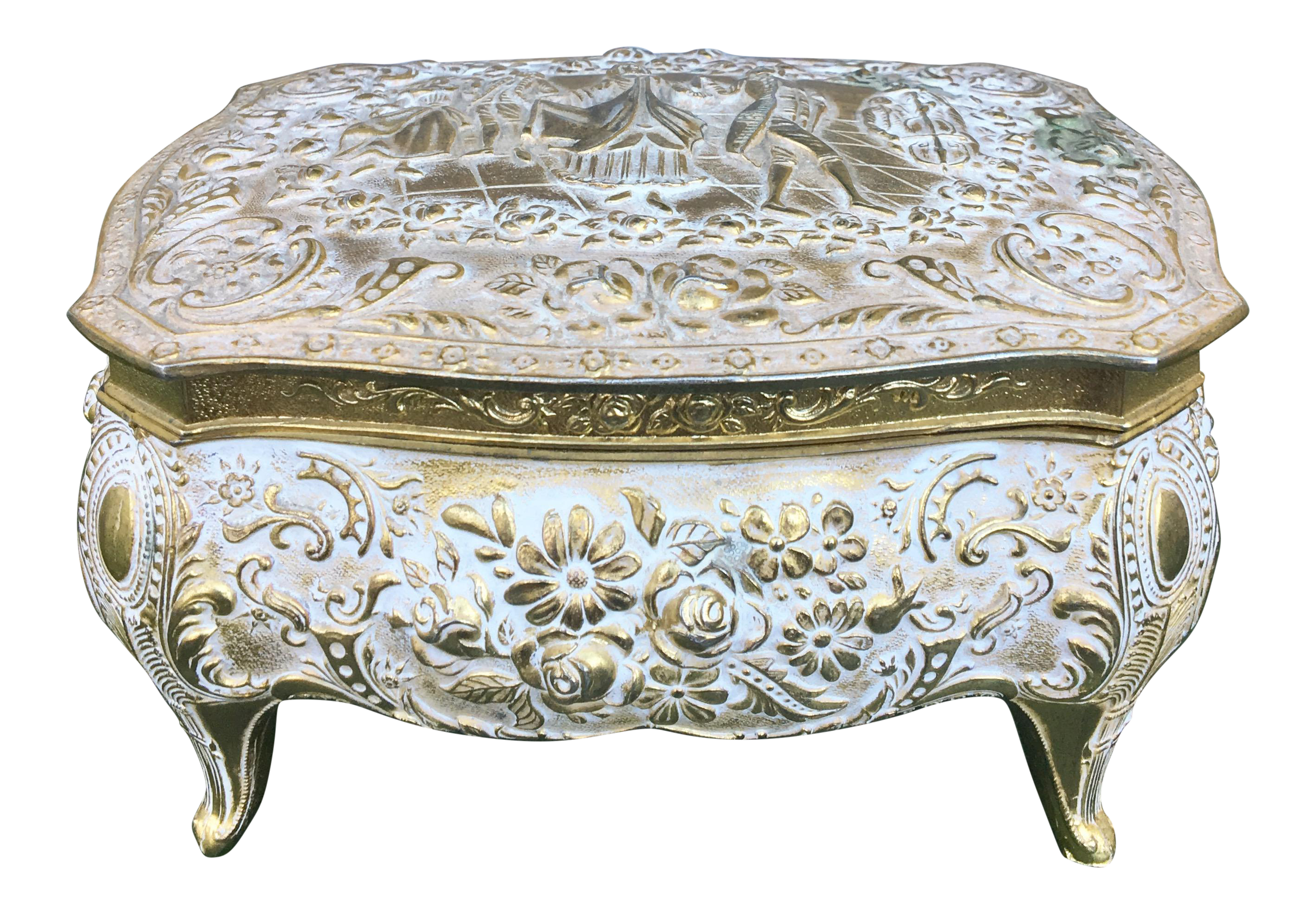Antique French Regency Jewelry Box Chairish