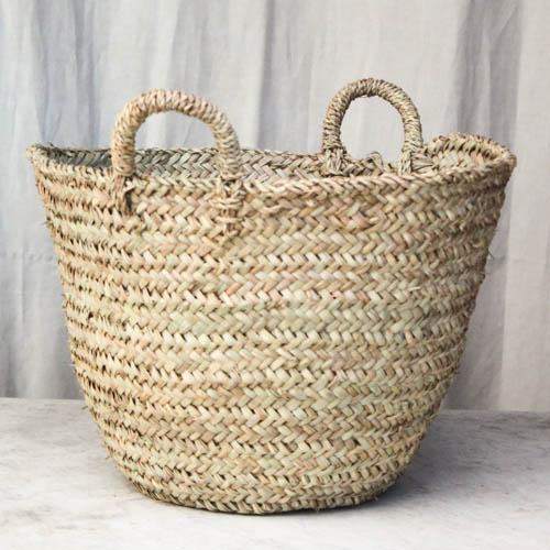 Moroccan Tote Basket - Image 2 of 6