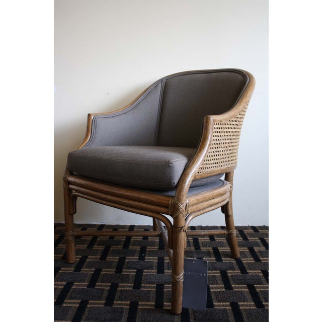 McGuire Toboggan Arm Chair - Image 2 of 6