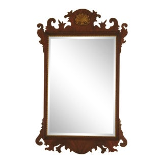 Henkel Harris Chippendale Mahogany Mirror For Sale