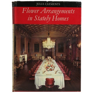 """1967 """"Flower Arrangements in Stately Homes"""" Book"""