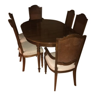 Ethan Allen Court Mahogany Dining Set For Sale