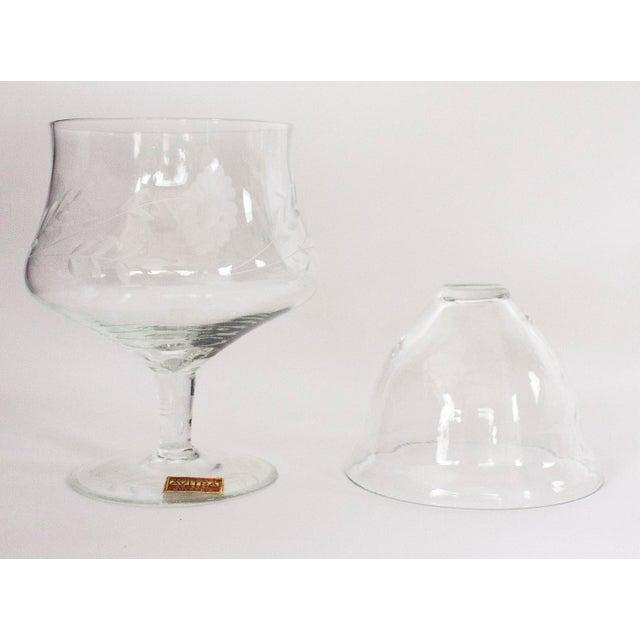Avitra Handmade Crystal Shrimp Cocktail Glasses & Inserts - Set of 12 - Image 3 of 6
