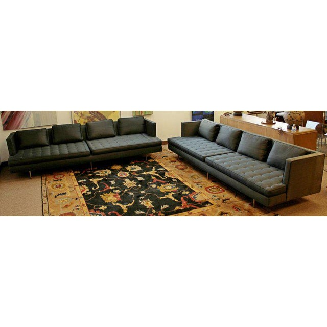 Mid-Century Modern Mid-Century Modern Style Pair Wormley for Dunbar Chamberlain Model 4907a Sofas For Sale - Image 3 of 11
