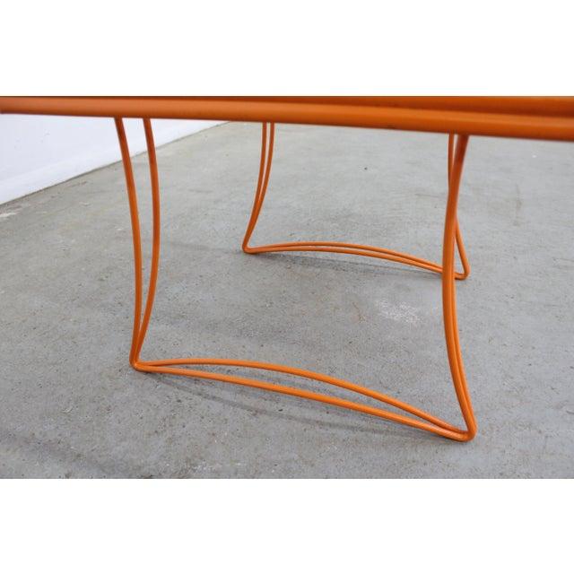 Mid-Century Modern Homecrest Bottemiller Metal End Table 1521 For Sale In Philadelphia - Image 6 of 8