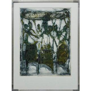 Bruce Onobrakpeya Nomorere Print For Sale