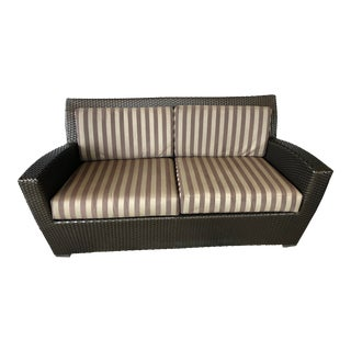 Transitional Brown Jordan Fusion Loveseat