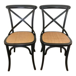 Bentwood Bistro Side Chairs- A Pair For Sale