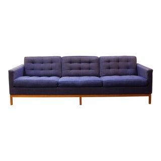 1950s Mid-Century Modern Florence Knoll Three-Seat Lounge Sofa