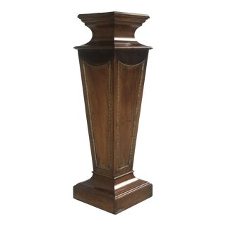 Large Antique Plinth/Pedestal For Sale