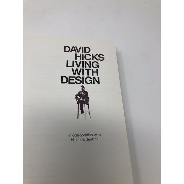 David Hicks Living With Design Hardback Design Book For Sale - Image 9 of 12