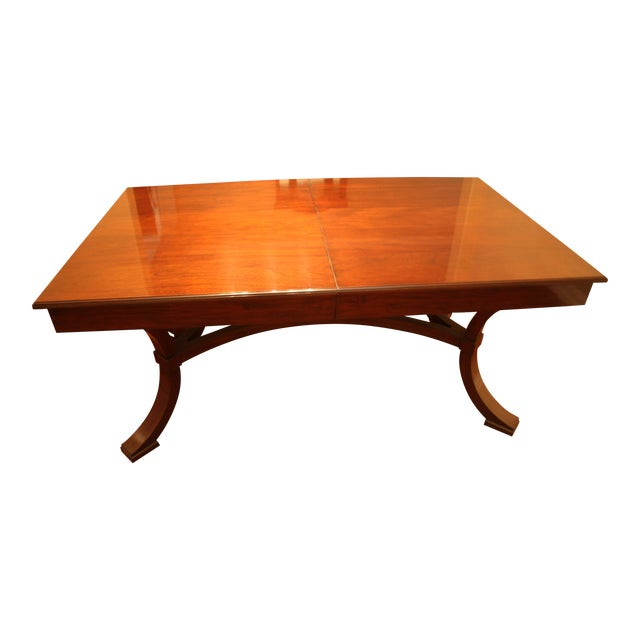 Williams-Sonoma Home Solid Mahogany Dining Table For Sale