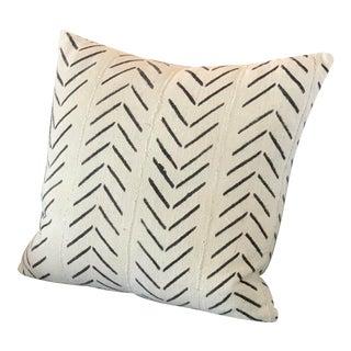Vintage Malian Bogolanfini Mudcloth Pillow For Sale