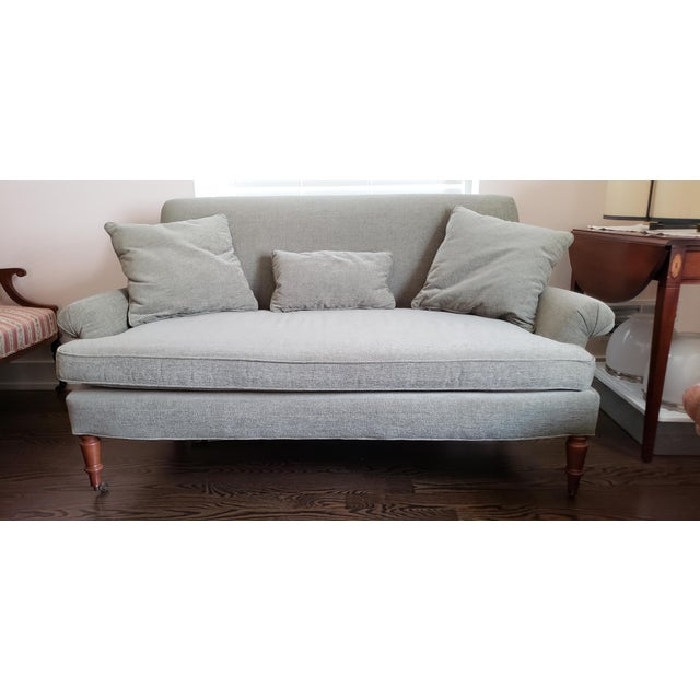 Traditional Style Lee Industries Loveseat For Sale In Pittsburgh - Image 6 of 6