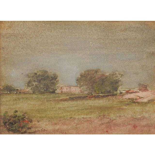 William O'Donovan Small Landscape Painting For Sale - Image 4 of 4