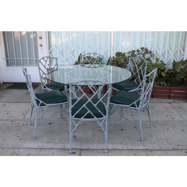 Venemen Outdoor Cast Iron Patio Set For Sale - Image 13 of 13