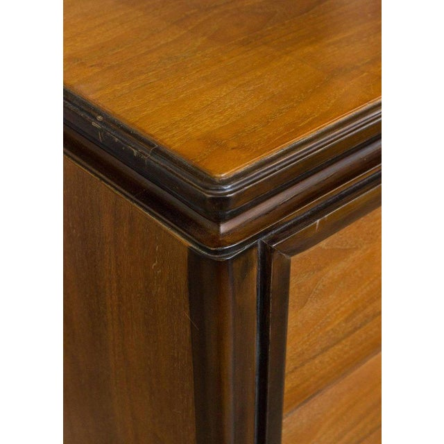 """Silver American Midcentury """"chinese-modern"""" Chest of Drawers For Sale - Image 8 of 9"""