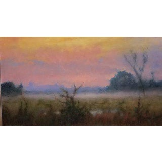 "Chris Burkholder ""West From Pennington"" Oil Painting For Sale"